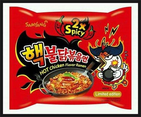 nuclear fire noodles